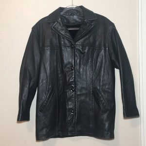 Vintage Winlet Leather Jacket Sz L